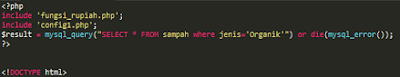 membuat Fungsi Rupiah simpel di pemograman PHP
