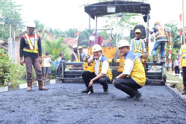 Inovasi Infrastruktur Muba Raih Penghargaan dari Sindo Weekly