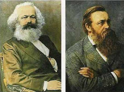 "the approach to socialism in the communist manifesto by karl marx and friedrich engels ""a specter is haunting europe – the specter of communism"" this is the famous opening line of the manifesto of the communist party written by karl marx and friedrich engels."