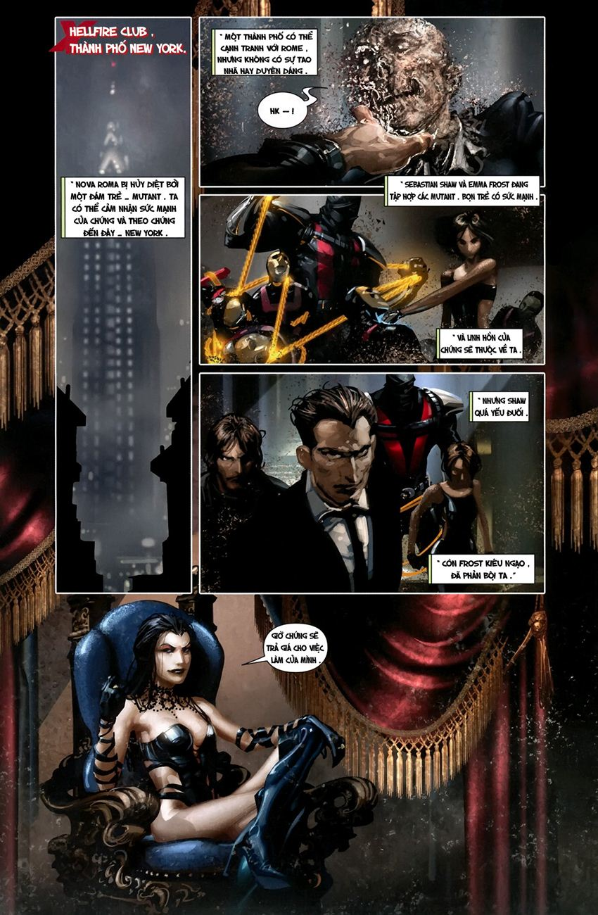 X-Men Necrosha chap 1 trang 17