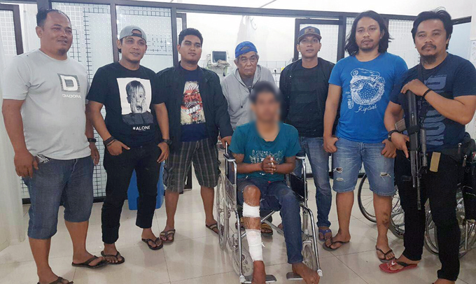 Melawan saat Diringkus, Buruh Bangunan Pencuri Belasan Laptop Tumbang Didor Polisi