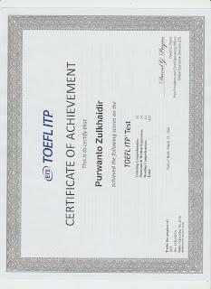 Score TOEFL PBT
