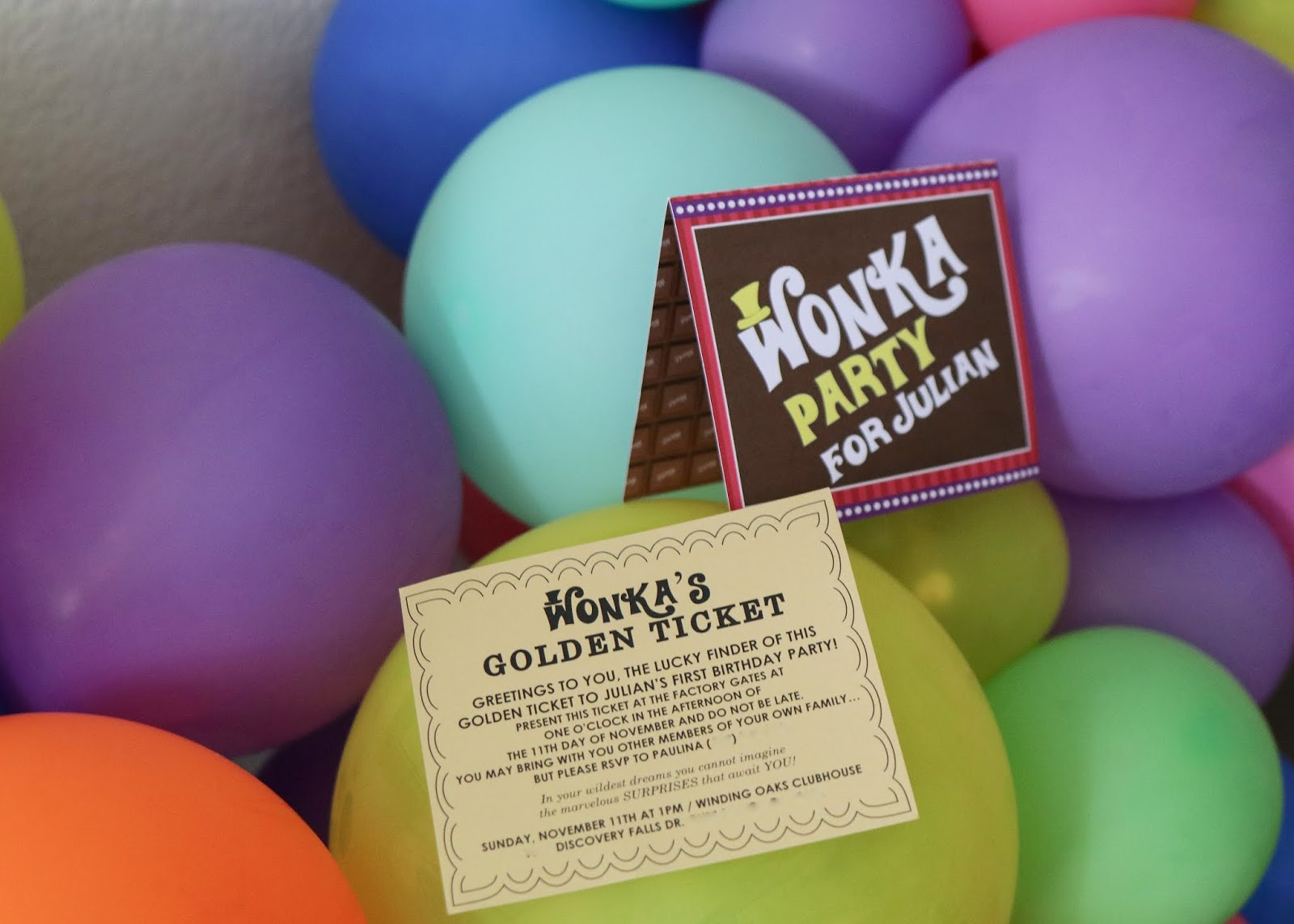 golden ticket party invitation, willy wonka party invite