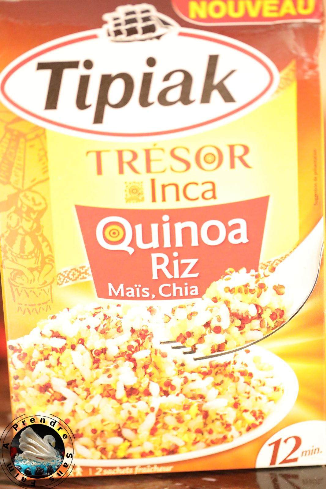 Palets Trésor Inca parmesan