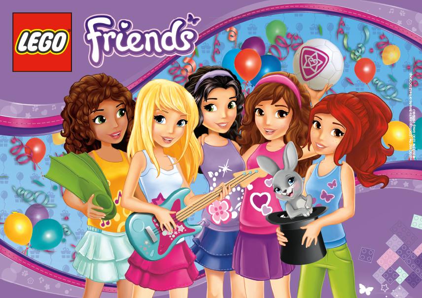 Top LEGO Friends Inspire Girls Globally Birthday Party Ideas ZQ91