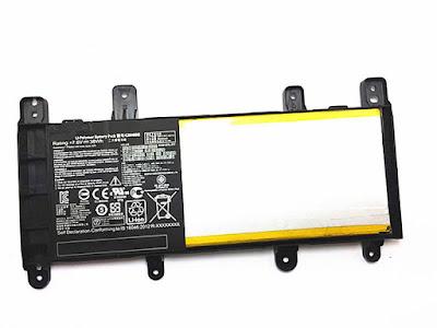 batterij voor ASUS X556UA X556UB X556UF X556UJ X556UQ X556UR C21N1509