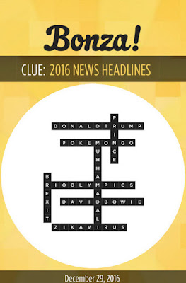 December 29 2016 Bonza Daily Word Puzzle Answers