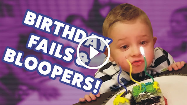 birthday fails