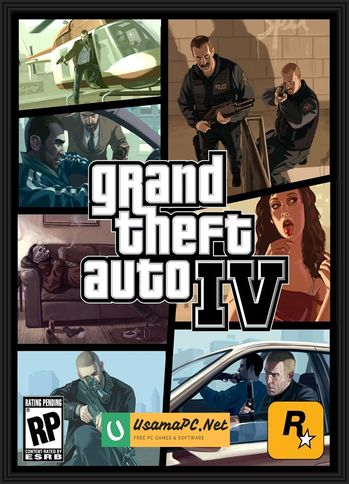 Grand Theft Auto 4 PC Cover