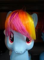 MLP Brushable Rainbow Dash Bank