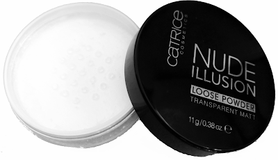 Nude illusion loose powder catrice