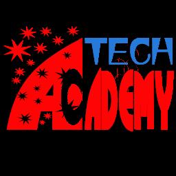 شعار قناة أكاديمية التقنية العربية علي اليوتيوب الحالي