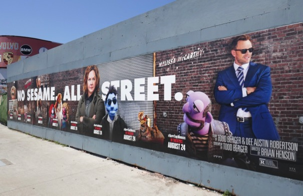 No Sesame All Street Happytime Murders posters