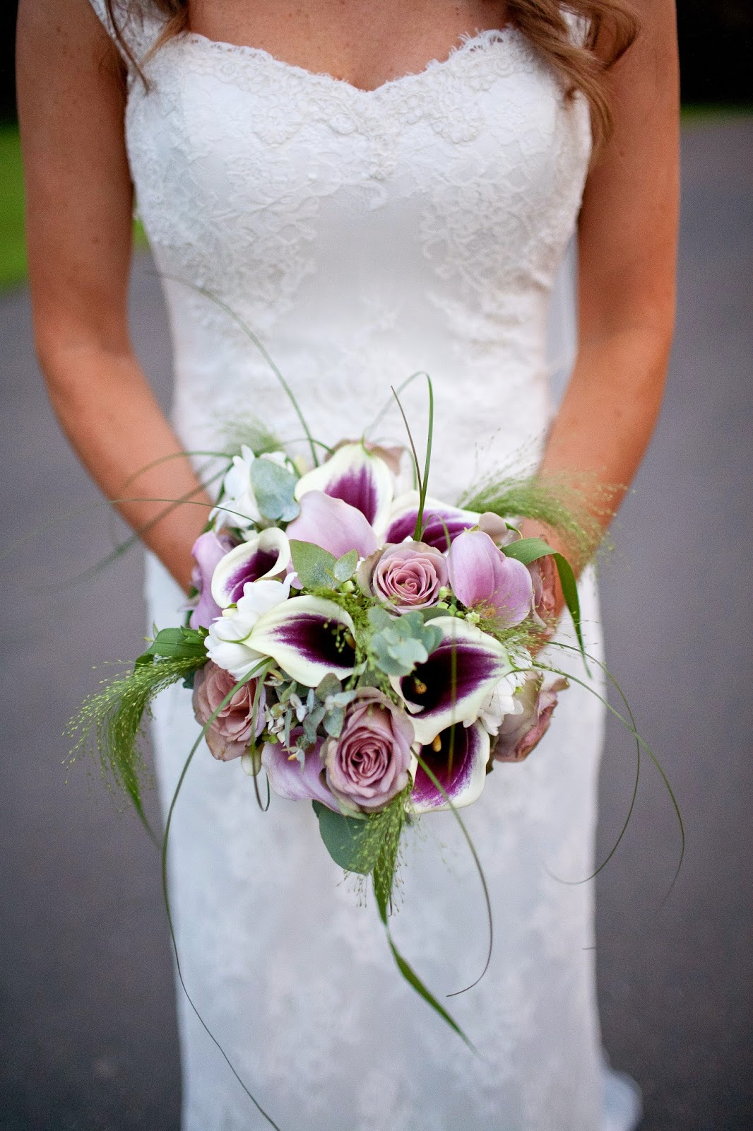 Calla lily bridal bouquet