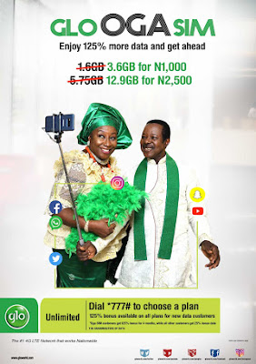 Glo Double Data: Get 125% Bonus With New OGA Sim Offer