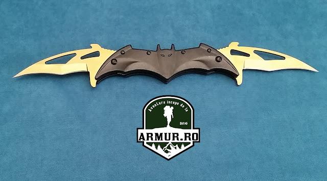 Briceag Batman cu 2 lame Cutit