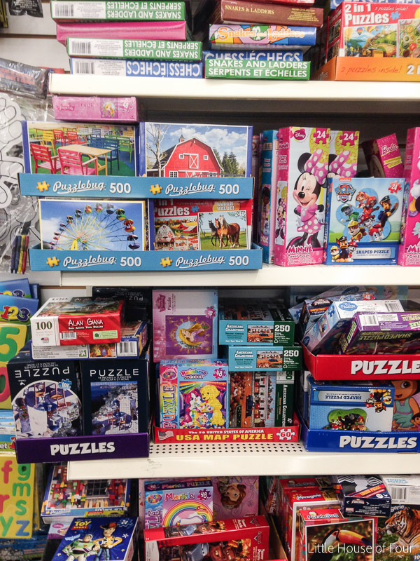 Dollar Tree puzzles are a must buy item for crafters