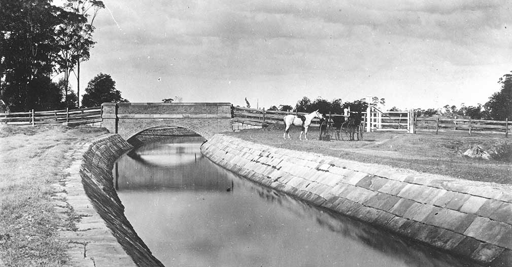 History Notes: Sydney Water Supply Upper Canal, NSW
