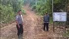 Monitoring dan Pengawasan DD Desa Semabi Oleh Bhabinkamtibmas Bersama Pemerintah Kecamatan Sekadau Hilir