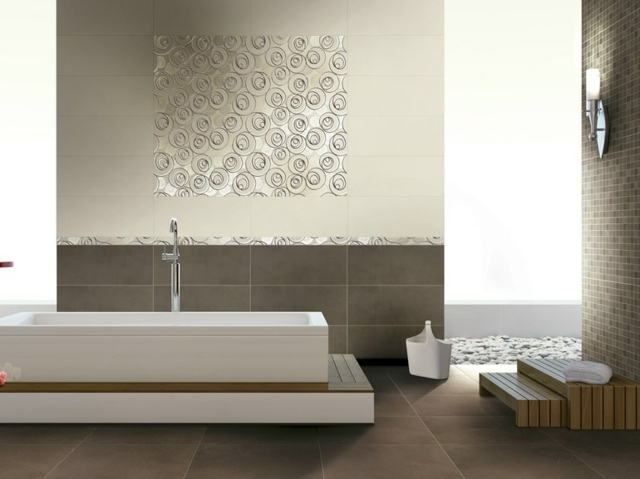 geometric bathroom tile patterns for bathroom luxury design