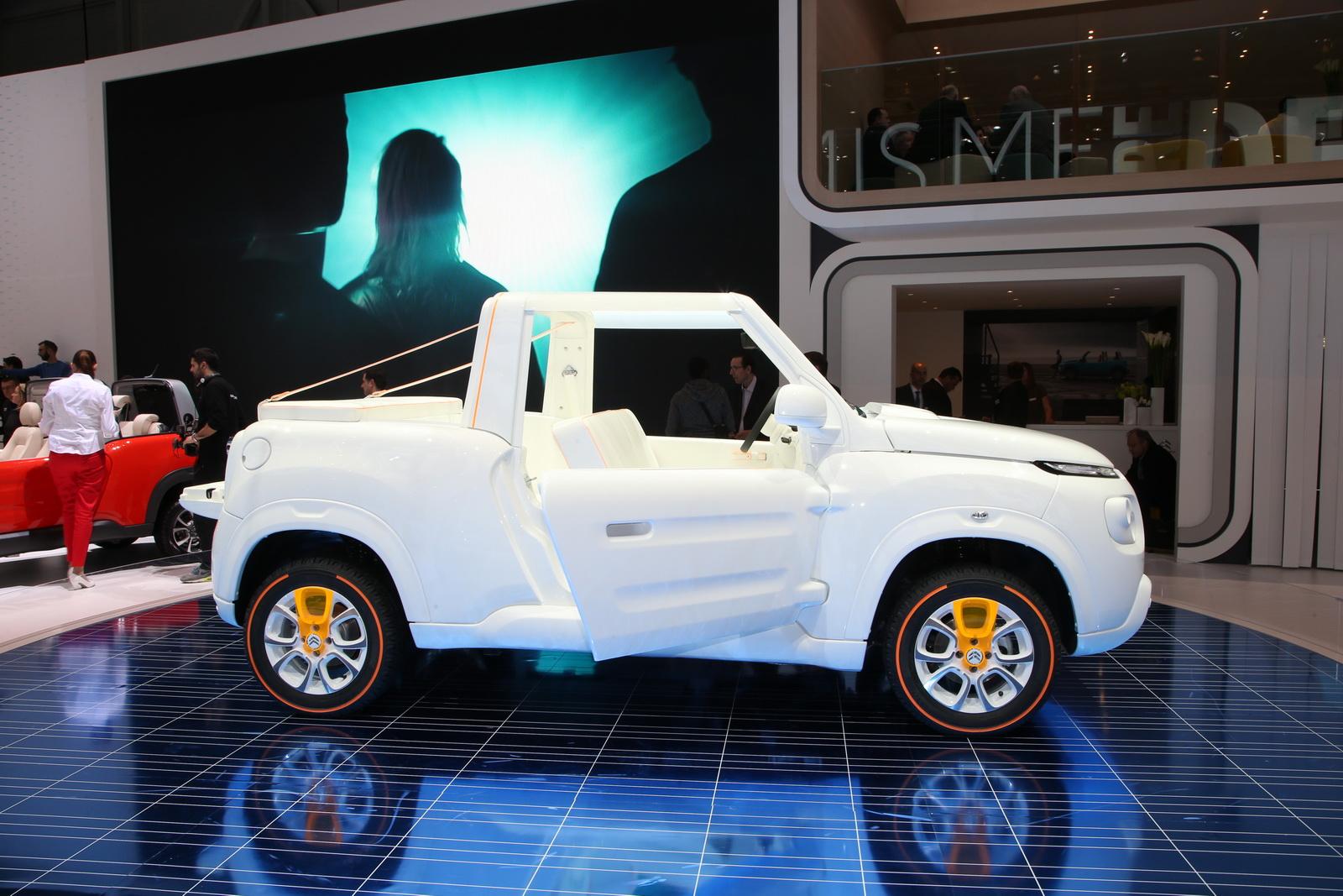 Citroen E-Mehari 2017 - Quái vật ngoài hành tinh tại Geneva Motor Show 2016