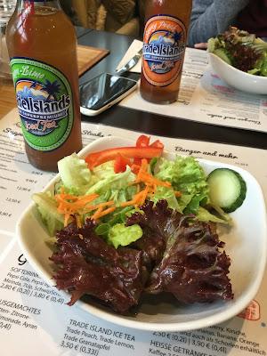green halal steakhouse frankfurt complimentary salad