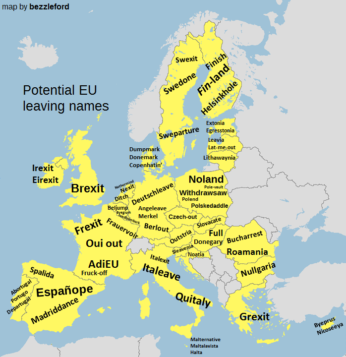 Potential EU leaving names