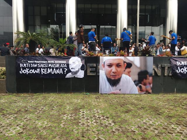 Pegawai KPK ke Jokowi: Apa Salah Minta Presiden Ungkap Kasus yang 2 Tahun Gelap?