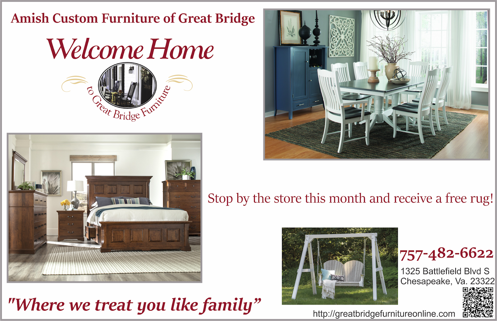 Amish Made Furniture Of Great Bridge Come By And Get Your