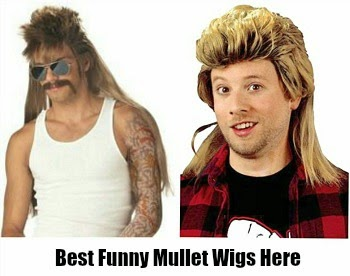 Funny Mullet Wigs