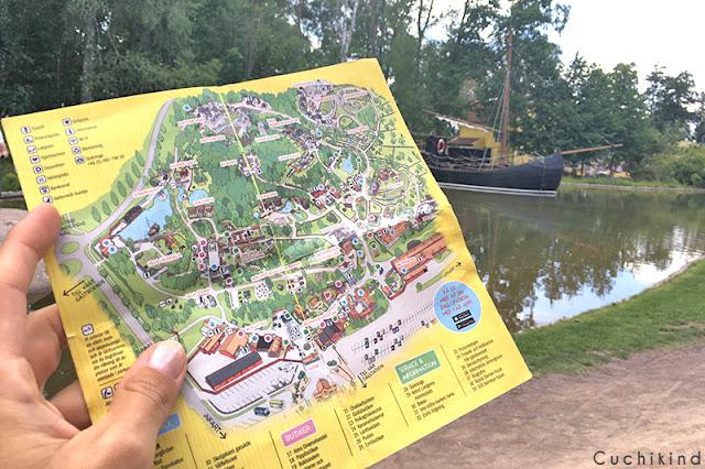 Parkplan Astrid Lindgrens Värld