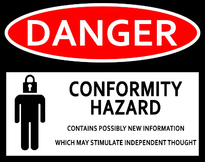 Light Workers and The Lost Art of Transmuting Fear into Love  Danger-conformity-hazard1