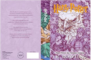 Cover Harry Potter Ketiga bergambar Buckbeak si Hippogriff