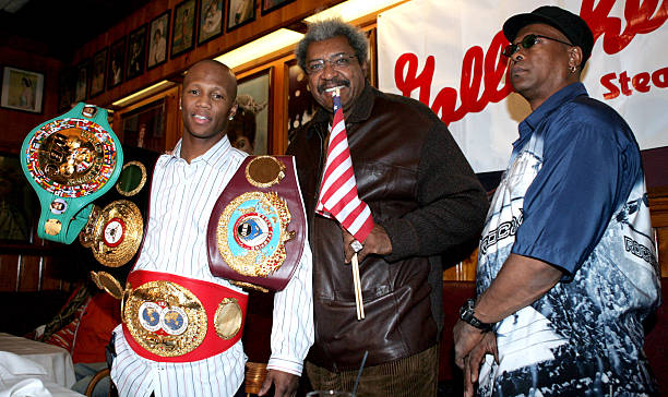 Zab Judah Former Undisputed Welterweight World Champion