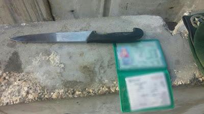 Polícia de fronteira prende mulher palestina portando faca em Jerusalém