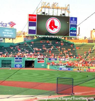 Boston Red Sox MLB Team at Fenway Park in Massachusetts