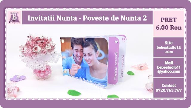 Invitatii Nunta Poveste de Nunta 2