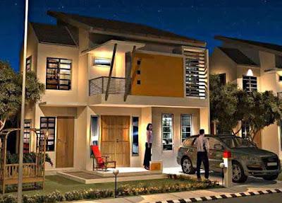 Inspirasi Model Desain Rumah Minimalis yang Bagus dan Mewah 2 Lantai