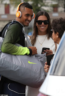 Photos: Ajla Tomljanovic and boyfriend Nick Kyrgios
