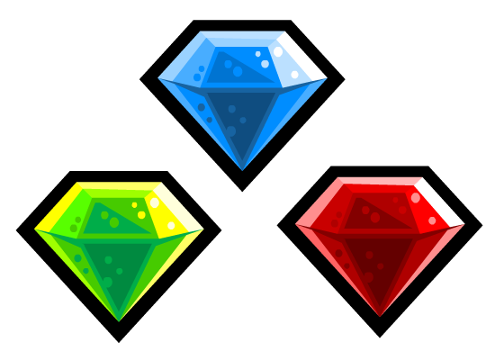 2D Game Art Tutorials: Quick Draw - Diamond