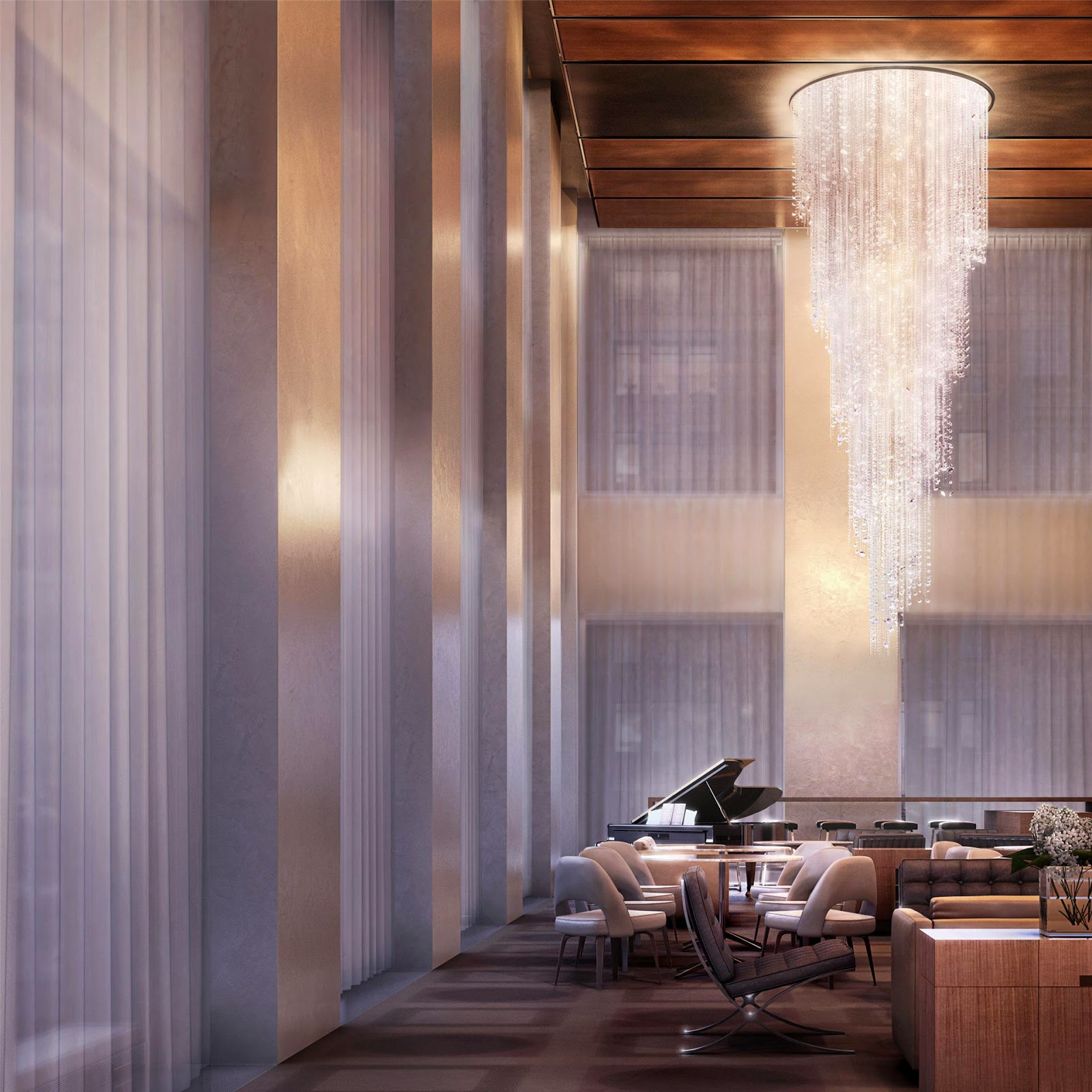 Park Avenue New York Apartments: Passion For Luxury : Glorious 432 Park Avenue Skyscraper
