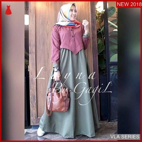 VLA033L93 Model Dress Layna Bd Murah BMGShop