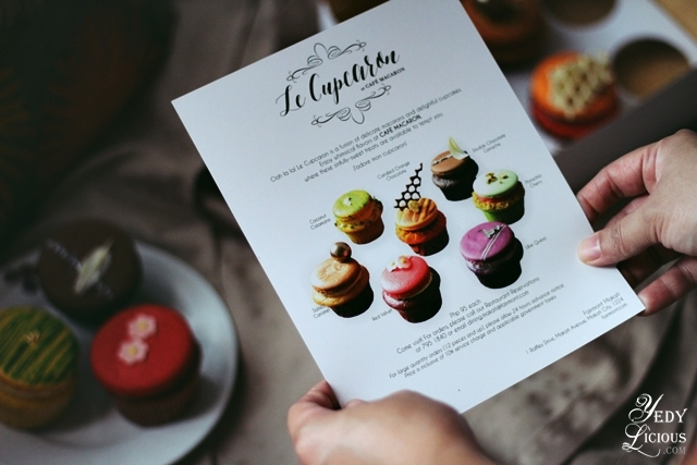 La Cupcaron at Cafe Macaron Fairmont Raffles Hotel Makati, Blog Review Website Price Menu Contact No Reservation Facebook Instagram Twitter Best Cupcake Macaron Recipe Manila YedyLicious Food Blog