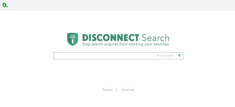 motore di ricerca Diconnect