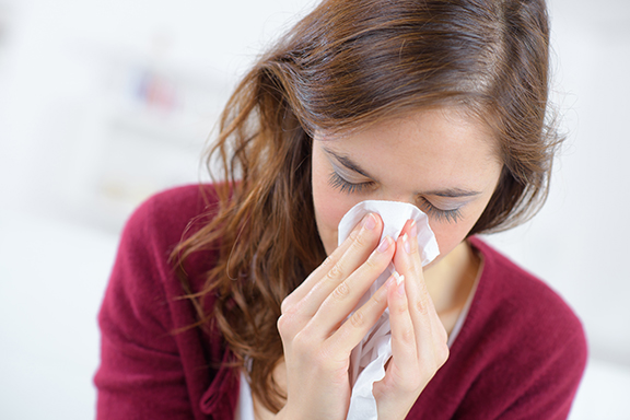 How long am I contagious when I have the flu or a cold?