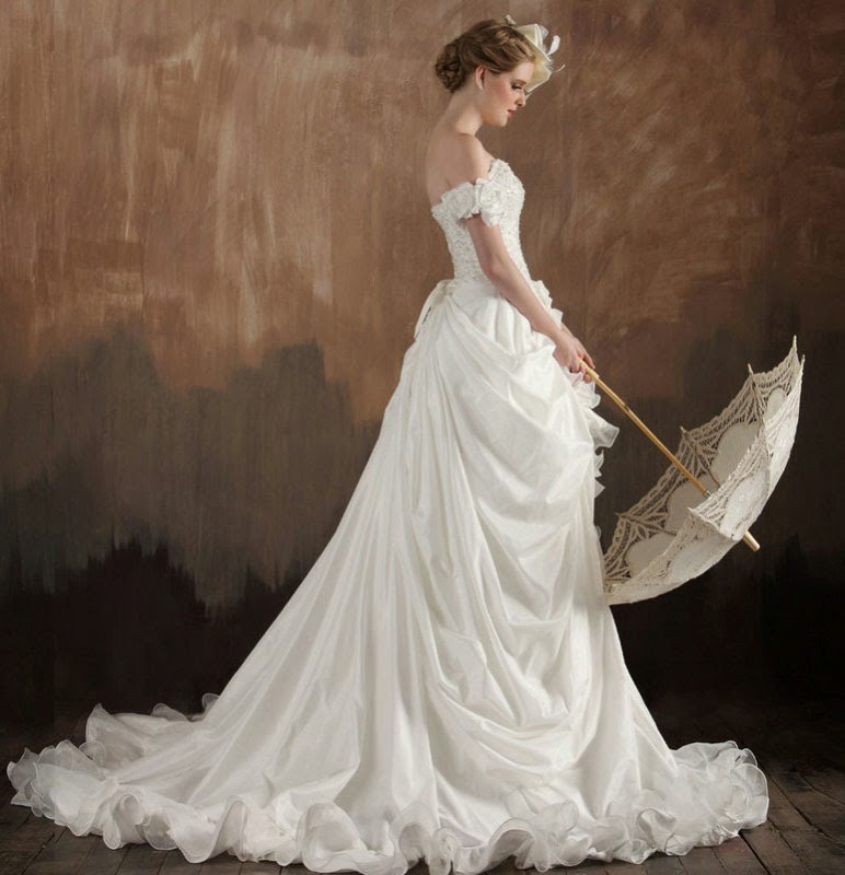 Wedding Dress Ideas: Old Fashioned Wedding Dresses Concept Ideas
