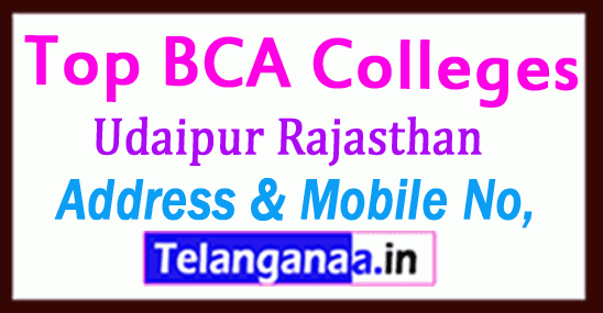 Top BCA Colleges in Udaipur Rajasthan