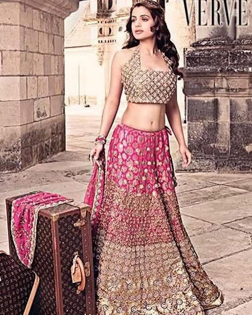 Actress Ameesha Patel Sexy Navel Images