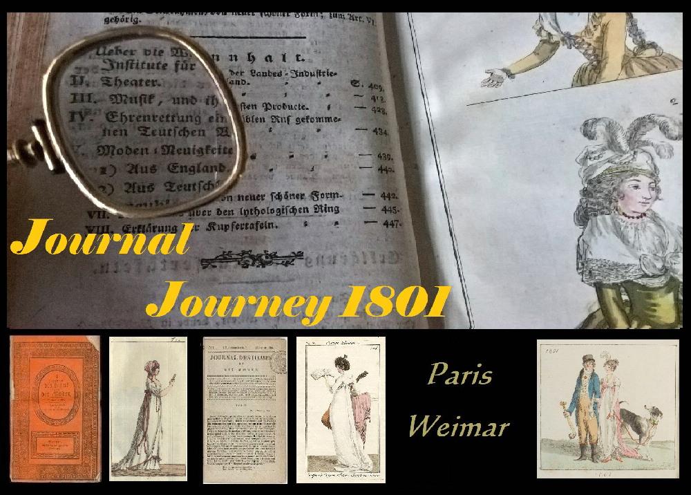 Kleidung um 1800: Journal Journey 1801: Januar \'Journal des Luxus ...
