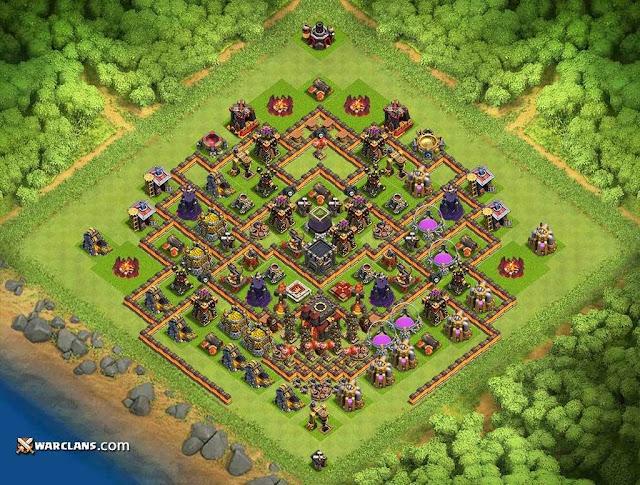 базы для тх 10 clash of clans для кв после обновления #10